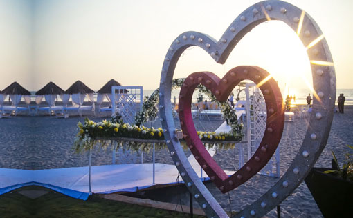 Marbela Beach Resort Wedding