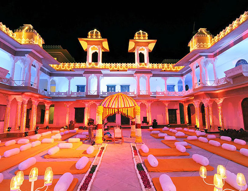 Weddings at Fatehgarh Palace Udaipur